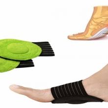 Coussins Pieds Plats Support Arche de Massage par Compression