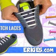 Lacets Sport élastiques<br /> لا تضيع الوقت في ربط الحذاء مرة أخرى