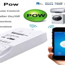 Interrupteur Sonoff Pow R2 Sans Fil WiFi Intelligent avec mesure de la consommation électrique - 16A 90-250V