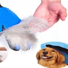 Gants brosse chien et chat pour Nettoyage, Massage et toilettage<br />