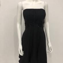 Robe Noir MI-LONGUE