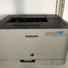 Samsung CLP-365 Imprimante Laser Couleur 18 ppm avec Toners vide