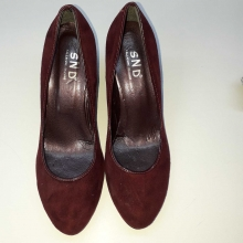 Talon daim pour Femme made in italy