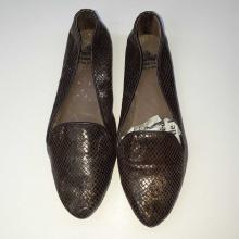 Chaussure Femme en Couleur Marron