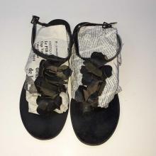 Sandale Femme en daim