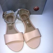 Sandale pour femme en saumon