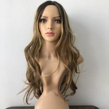 Perruque Cheveux Fibre Synthétique Tendance Pour Femmes - Lisses Et Ondulés Pour Un Usage Quotidienun